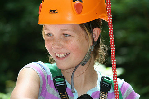 camp davern climbing and rappelling