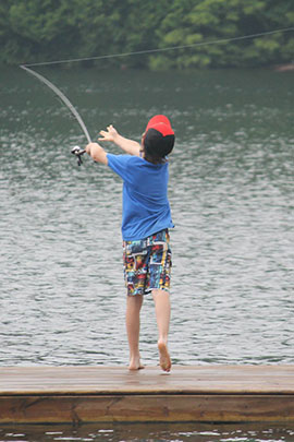 camp davern fishing
