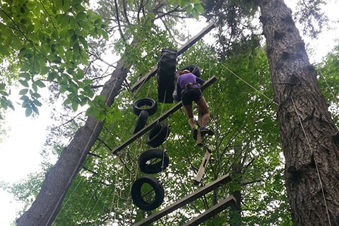 camp davern high ropes