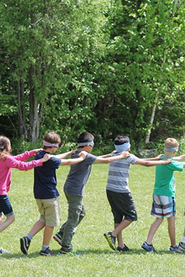 leader within leadership activities at camp davern