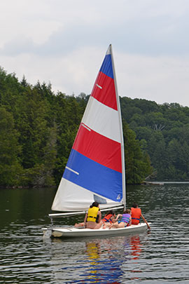 camp davern sailing