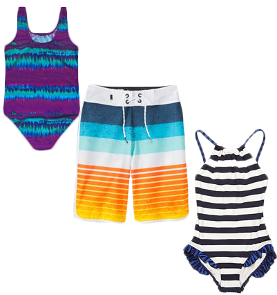 3 bathing suits