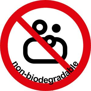 no non-biodegradable soaps